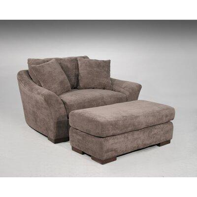 Dominic Cachet/Java Chair and Ottoman