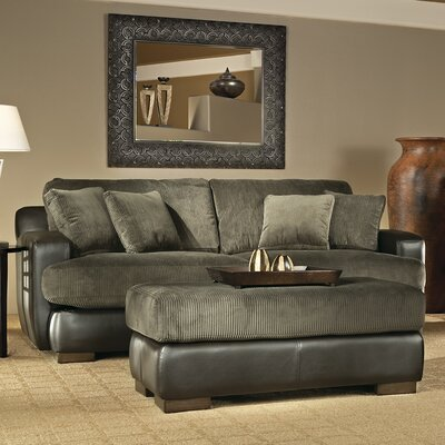 Wildon Home ® Bally Leather Sleeper Sofa