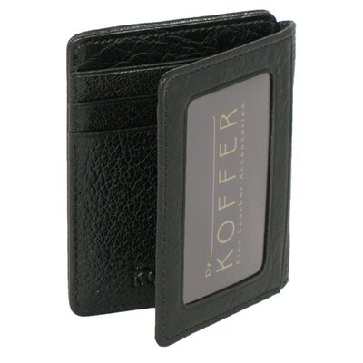 Dr. Koffer Fine Leather Accessories Front Pocket ID Wallet