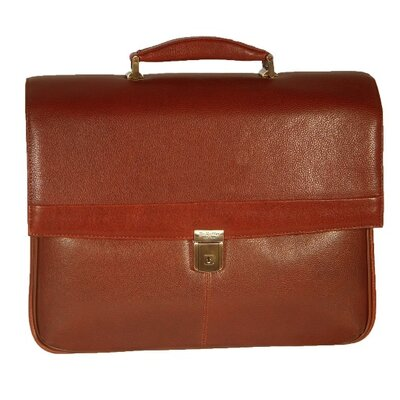 Mason Leather Laptop Briefcase