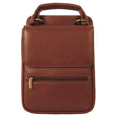 Dr. Koffer Fine Leather Accessories Lionel Flapover Document Shoulder Bag