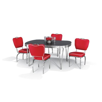 Chromcraft Retro 5 Piece Dining Set