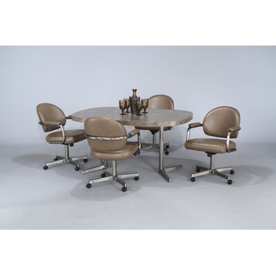 Chromcraft Chromcraft Core 5 Piece Dining Set