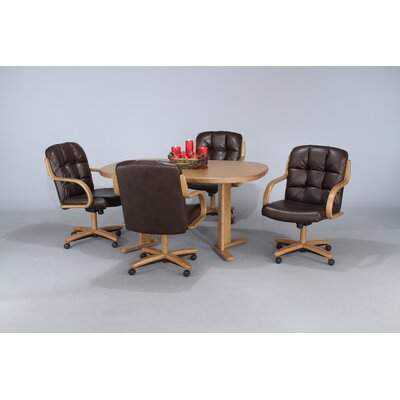 Chromcraft Chromcraft Core Tilt Swivel Arm Chair