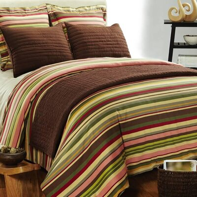 Amity Home Lucas Stripe Duvet Cover Set