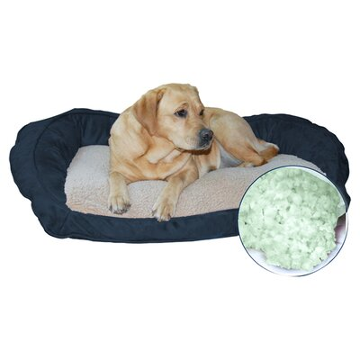 Serta Memory Foam Bolster Dog Bed