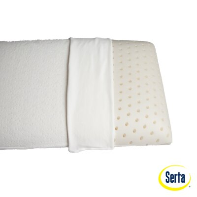 Serta Mattress Italian Memory Foam Gentle Support Standard Pillow