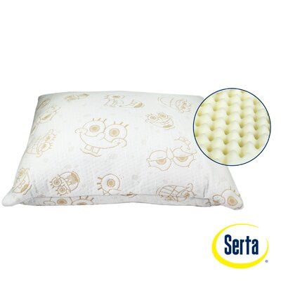 Serta Perfect Sleeper Nickelodeon SpongeBob SquarePants Memory Foam Standard Pillow