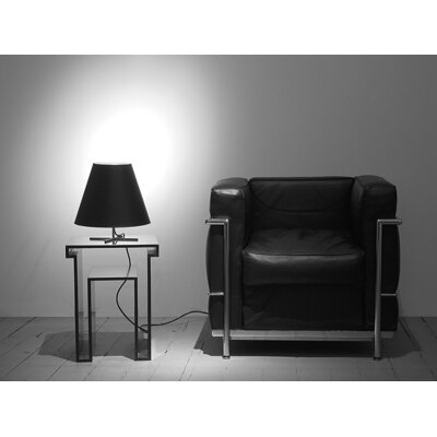 """Designfenzider Lamp 12"""" H Table Lamp with Empire Shade"""
