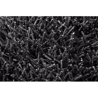 Linie Design Electric Black Rug
