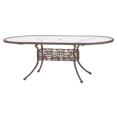 Woodard Landgrave Chateau Oval Umbrella Table