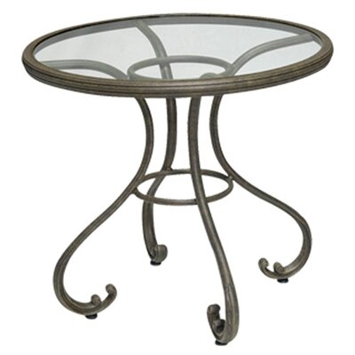 Woodard Landgrave Old Gate Round Bistro Table