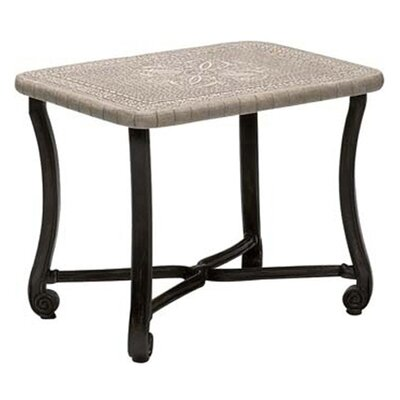 Woodard Landgrave Villa Rectangular Side Table