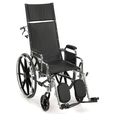 Breezy EC 4000 High Strength Reclining Standard Wheelchair