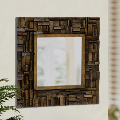 Style Craft Wooden Wall Mirror