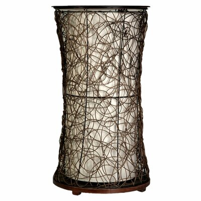 Style Craft Linen Liner Table Lamp