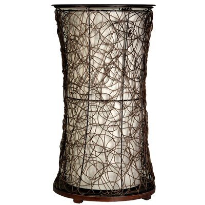Style Craft Linen Fabric Liner Table Lamp