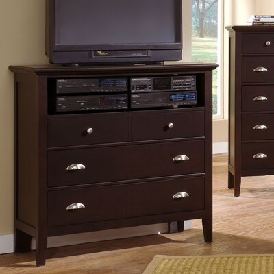 Vaughan-Bassett Twilight 3 Drawer Media Chest