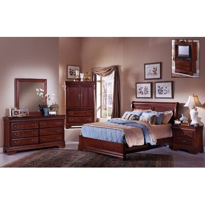 Vaughan-Bassett Barnburner Thirteen Low Profile Bedroom Collection