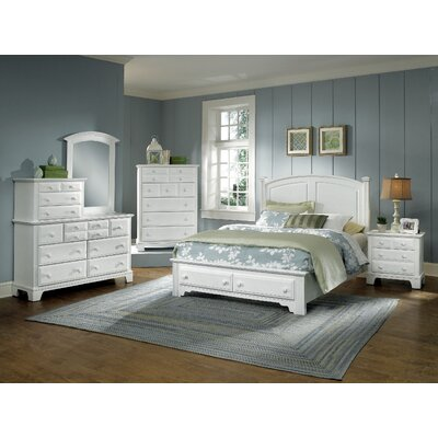 Vaughan-Bassett Hamilton Franklin Storage Bedroom Collection