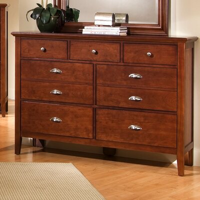 Vaughan-Bassett Twilight 7 Drawer Dresser