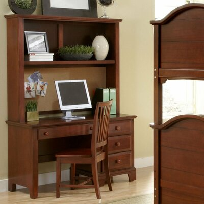 "Vaughan-Bassett Hamilton Franklin 52"" Computer Desk with Hutch"