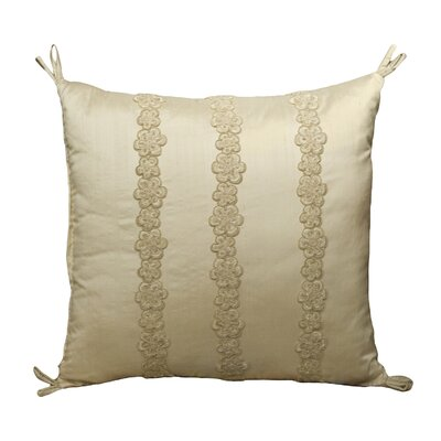 Rose Tree Linens Crystal Polyester Lace Pillow