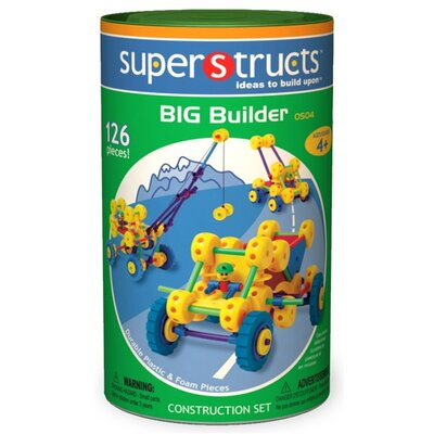 Superstructs Big Builder Building 126 Piece Set