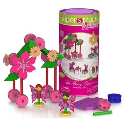 Pinklets Fairy Garden Building 110 Piece Set