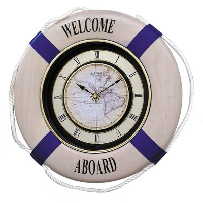Rhythm U.S.A Inc Marina Ultra Melody Wall Clock