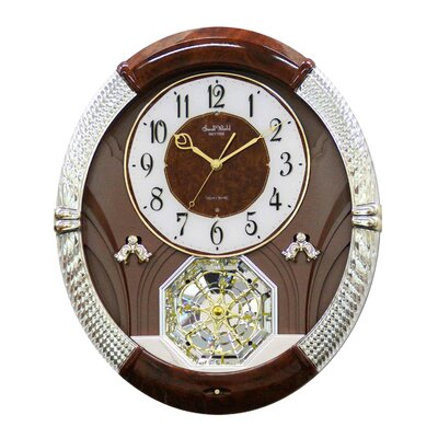 Rhythm U.S.A Inc Joyful Moment Melody Clock