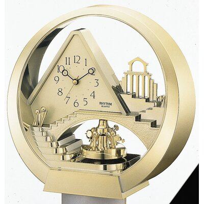 Rhythm U.S.A Inc Stairway to Heaven Melody Clock