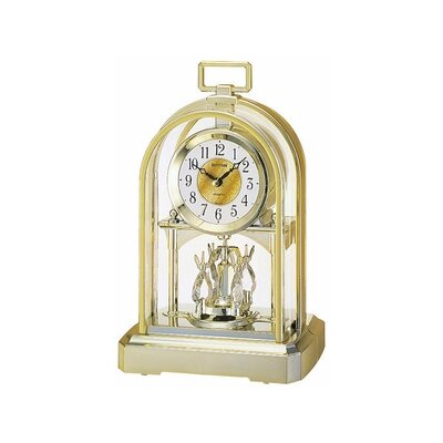 Rhythm U.S.A Inc Contemporary Carriage Table Clock