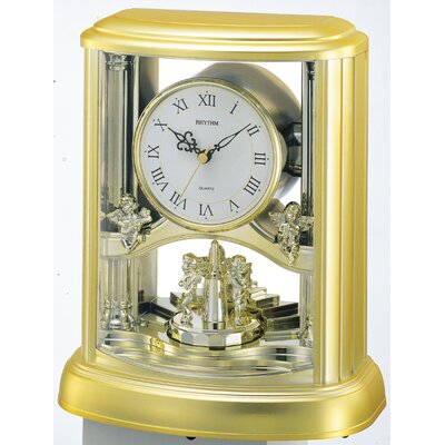 Rhythm U.S.A Inc Angel Table Clock