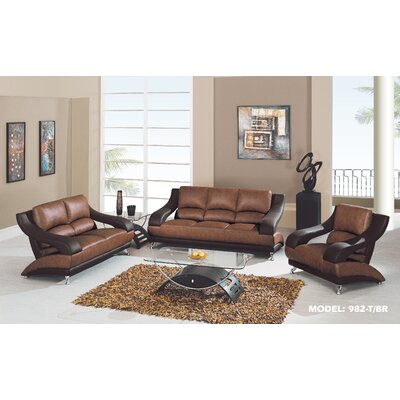 Global Furniture USA Zoe Living Room Collection