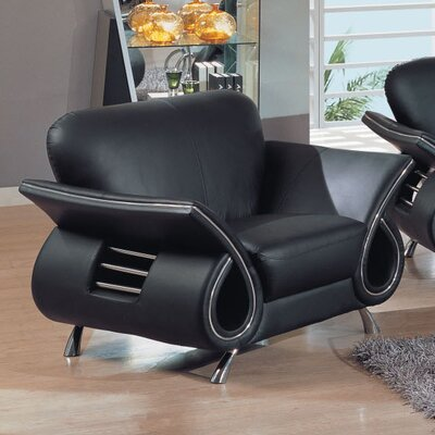 Global Furniture USA Clark Leather Armchair