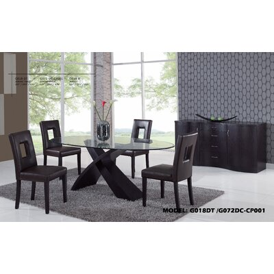 Global Furniture USA Joyce 5 Piece Dining Set