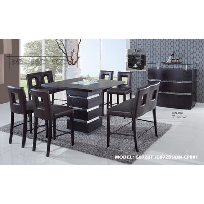 Counter Height Table Canada : Global Furniture USA Jordan 7 Piece Counter Height Dining Set