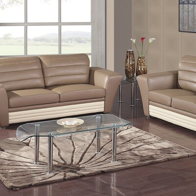 Global Furniture USA Lila Coffee Table Set