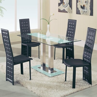 global furniture usa dining table allmodern. Black Bedroom Furniture Sets. Home Design Ideas
