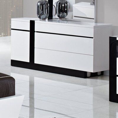 Global Furniture USA Trinity 3 Drawer Dresser