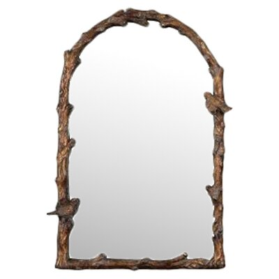 <strong>Uttermost</strong> Paza Arch Mirror in Distressed Antiqued Gold
