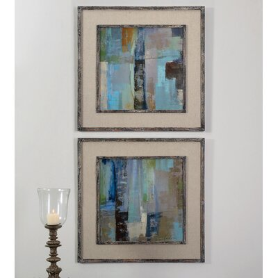 Skylights 2 Piece Framed Painting Print Set