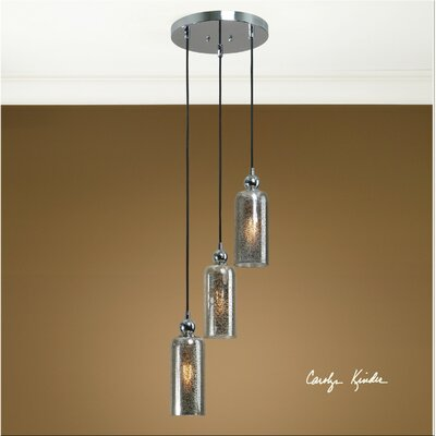Uttermost Triad 3 Light Pendant