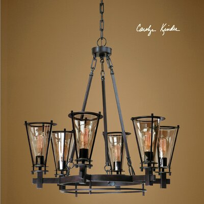 Frisco 6 Light Chandelier