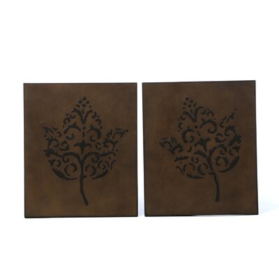 Uttermost Decorative Leaves Wall Art (Set of 2)