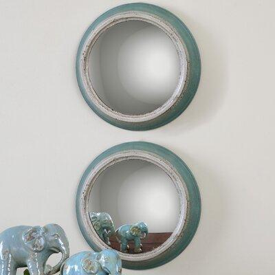 Fanchon Round Mirror (Set of 2)