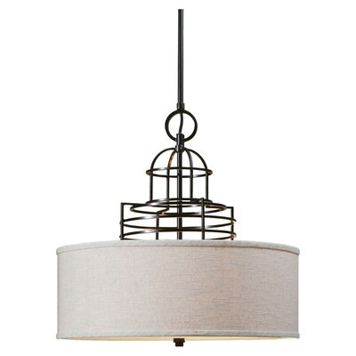 Cupola 3 Light Drum Pendant