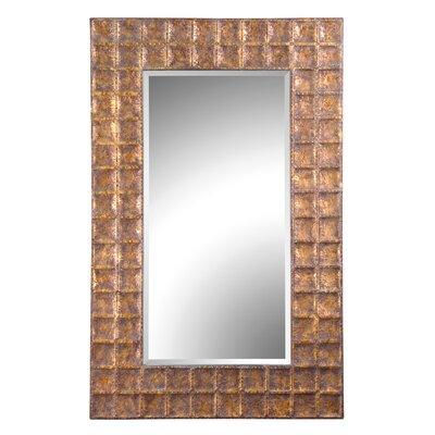 Gavino Hammered Frame Beveled Mirror