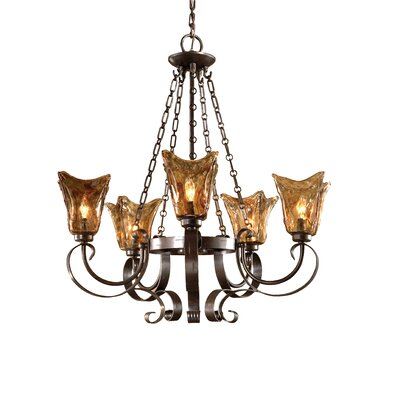 Uttermost Vetraio 5 Light Chandelier